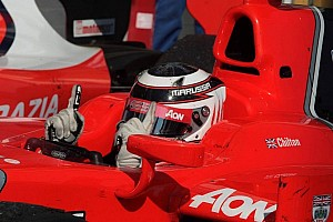 FIA F2 Race report Chilton earns his maiden GP2 win in Feature Race on Hungaroring