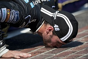 NASCAR Cup Race report Jimmie Johnson dominates for his fourth win at the Brickyard in Indianapolis