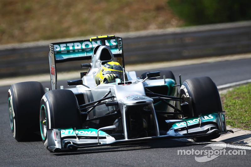 Difficult weekend for Mercedes in Hungarian GP
