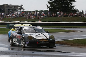 Grand-Am Race report TRG's great race run at Indianapolis ends with two laps to go