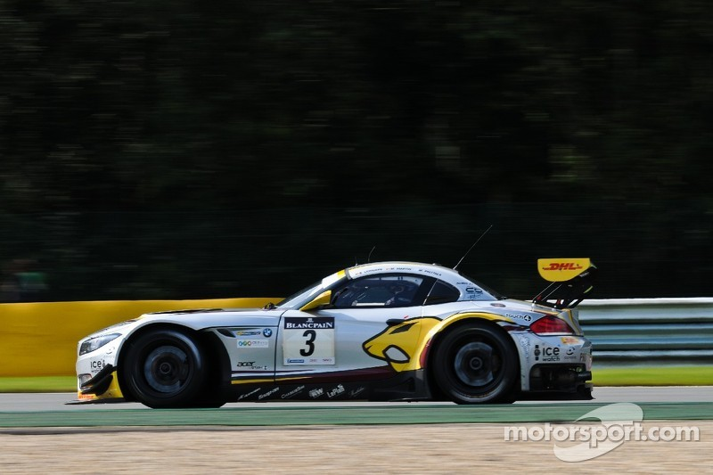 Hard fought fourth for Marc VDS at Spa