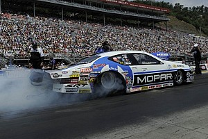 NHRA Qualifying report Massey, Capps and Johnson pace Friday qualifying in Washington