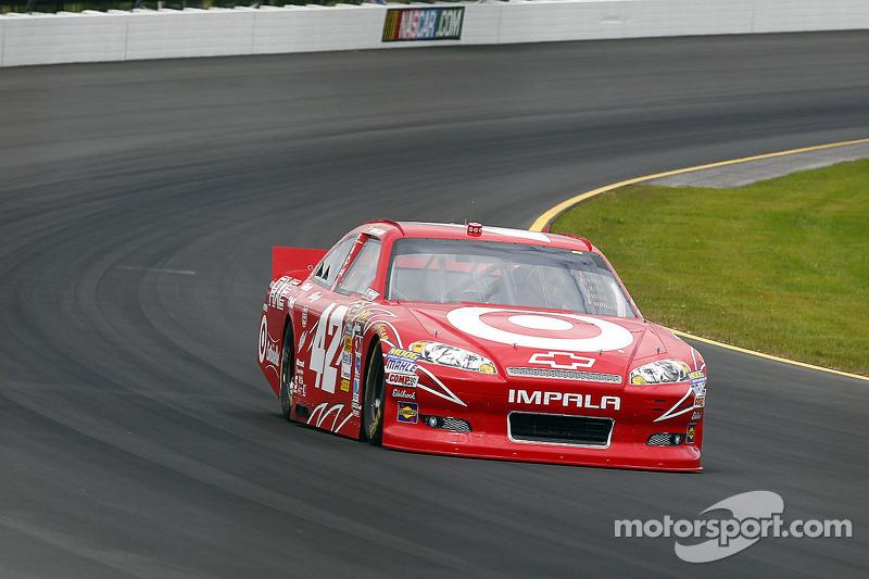 Juan Pablo Montoya grabs Pennsylvania 400 pole at Pocono