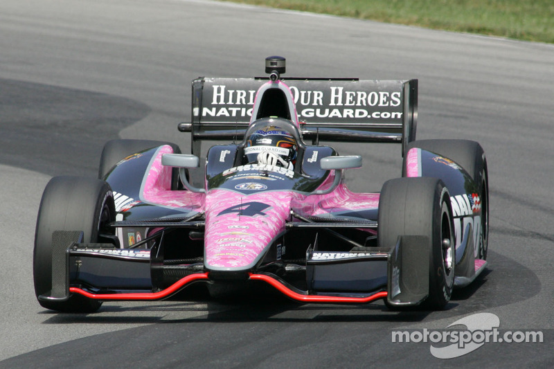 Hildebrand, Panther finish ninth Sunday in Indy 200 at Mid-Ohio