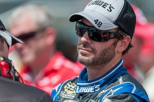 NASCAR Cup Qualifying report Johnson fastest Chevrolet qualifier at Michigan