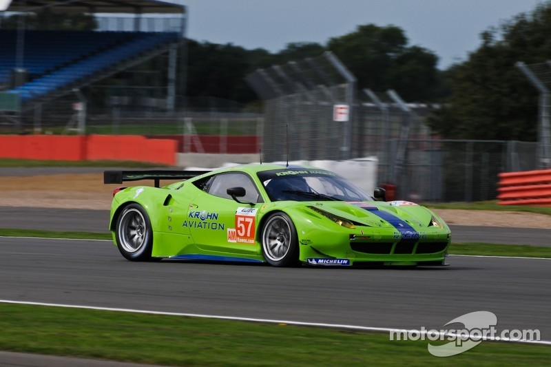Krohn Racing start from fourth in the GTE-Am class at Silverstone
