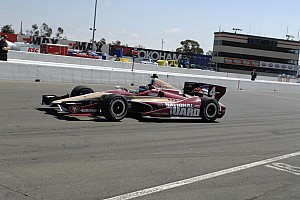 IndyCar Qualifying report Hildebrand qualifies 17th for sunday's GoPro Grand Prix of Sonoma