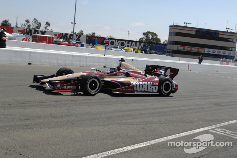 Hildebrand qualifies 17th for sunday's GoPro Grand Prix of Sonoma