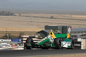 IndyCar Qualifying report Engine change puts Lotus HVM Racing at back of Sonoma field