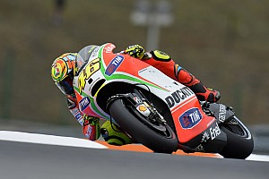 MotoGP Testing report Ducati Team at Misano for two days of testing with Valentino Rossi