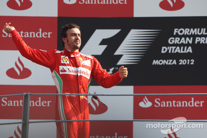 Italian GP - Alonso on podium consolidates his lead, Massa 4th