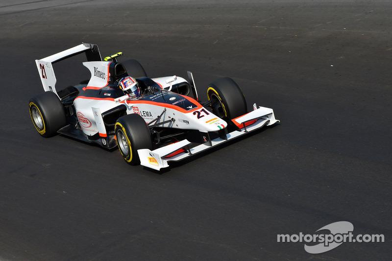 Coletti was close to the podium in Monza