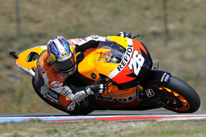 Rea and Pedrosa debuts on difficult first day in Misano