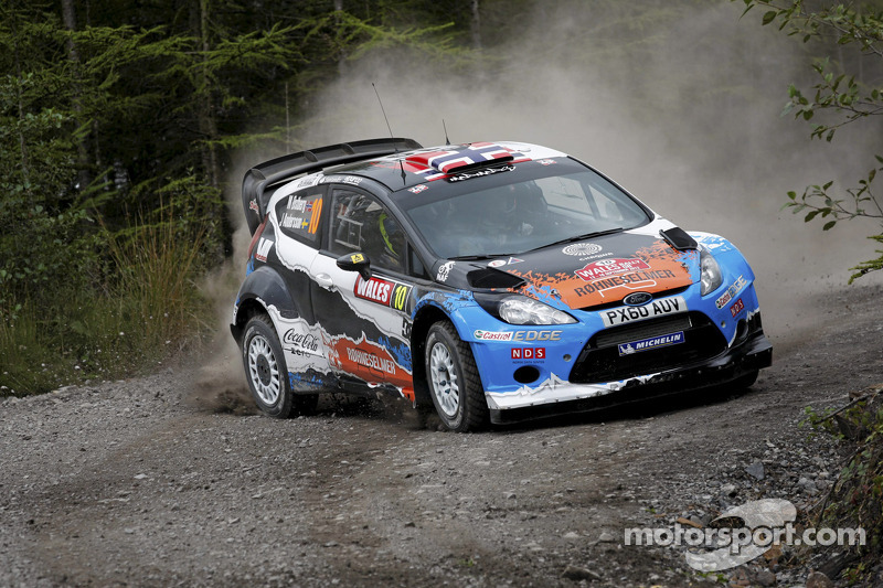 Østberg places his Adapta Ford fourth on day one of Wales Rally GB