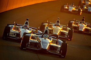 IndyCar Race report Tagliani's race-leading run ends early in Fontana