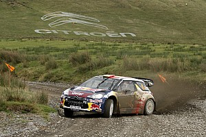 WRC Leg report Neuville and Al-Attiyah both finish in points for Citroen in Wales GB