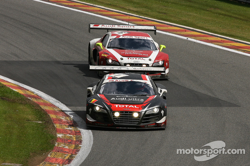 Title battle heats up at Nürburgring for the Belgian Audi Club Team WRT