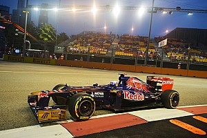 Formula 1 Practice report Fun time for Toro Rosso drivers on Marina Bay Street Circuit