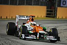 SFI shows strong performance with Di Resta in 4th on Singapore GP