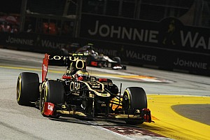 Formula 1 Special feature Lotus F1 Team use technology to improve on the track