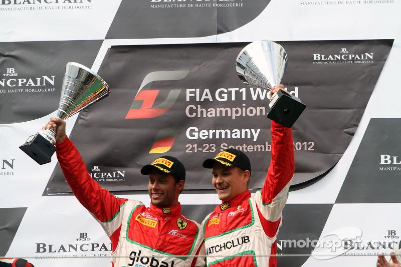 AF Corse's Salaquarda and Vilander win at Nurburgring
