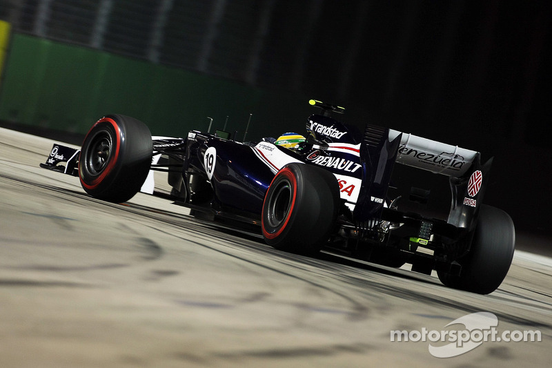 Gillan reflects on Williams team dissapointment in Singapore