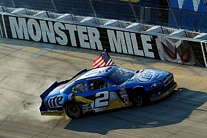 NASCAR Cup Race report Penske Racing's Keselowski reigns supreme at Dover