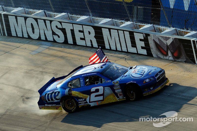 Penske Racing's Keselowski reigns supreme at Dover