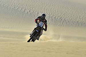 Cross-Country Rally Stage report  Husqvarna Rallye Team dominated stage 3 in Pharaons Rally