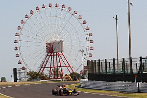 Formula 1 Practice report Red Bull drivers enjoyed Suzuka classic track on first practice day