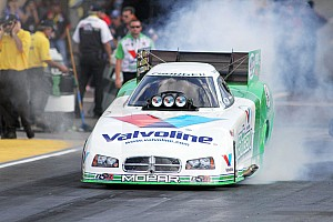 NHRA Qualifying report Beckman top funny car qualifier at Reading