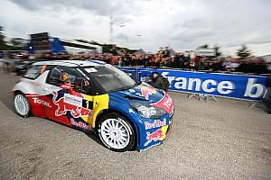 WRC Leg report Loeb holds lead in Rallye de France with title in sight