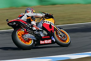 MotoGP Practice report Bridgestone:  Pedrosa leads tightly packed field in Motegi practice