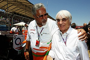 Formula 1 Breaking news Force India plays down boss Mallya's problems