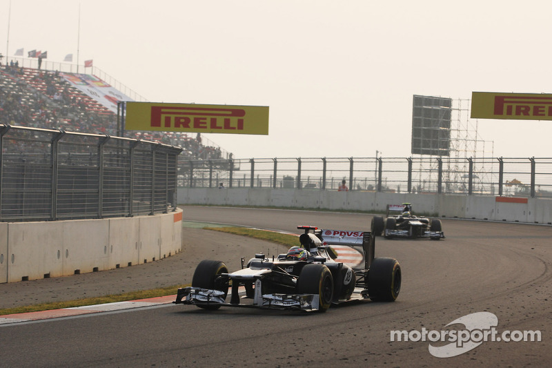 Williams pace was not strong enough on Korean GP