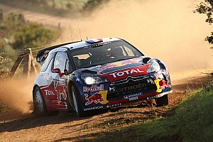 WRC Breaking news Nine time champions Loeb and Elena crash out of Rally Italia Sardegna