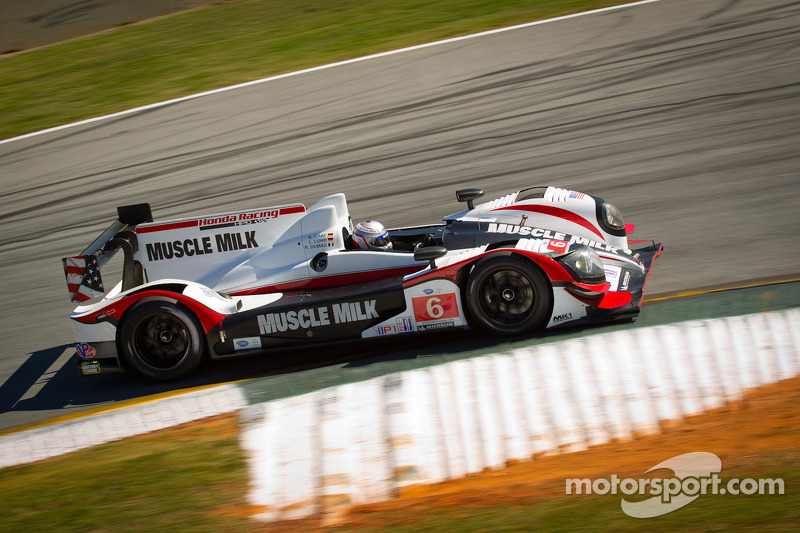 Front row start for Muscle Milk  Pickett Racing at Road Atlanta
