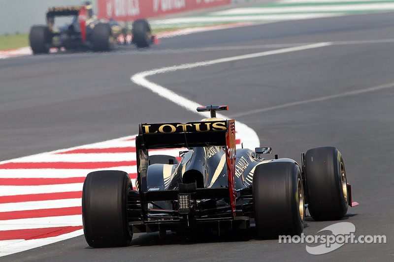 Lotus: Both drivers used the Coand