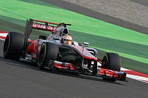 Formula 1 Qualifying report McLaren locks out second row on starting grid for the Indian GP