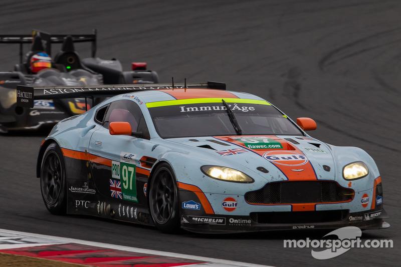 Aston Martin qualifies on GTE pole in Shanghai