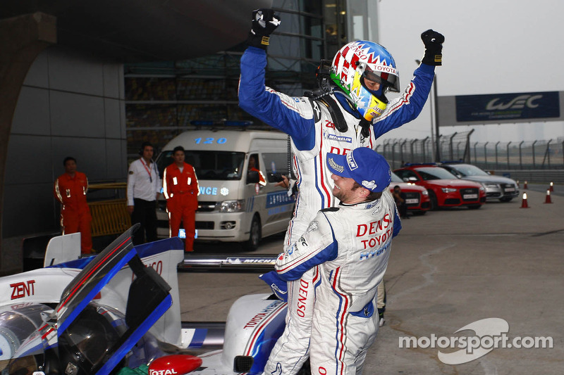 Commanding win for Toyota Racing in China
