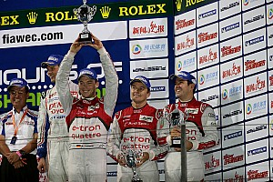 WEC Race report Audi trio are crowned world champions while Toyota wins in China