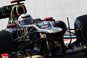 Formula 1 Qualifying report A tightly fought qualifying session for Lotus at the Yas Marina Circuit