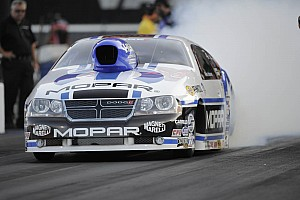 NHRA Qualifying report Johnson starts hot at NHRA finals on Auto Club Raceway