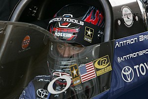 NHRA Qualifying report Brown faces teammate Massey to open season finals at Pomona