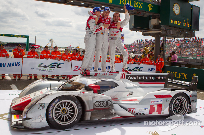 Audi heads the automatic selected teams for the 2013 24 Hours of Le Mans