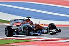 Sahara Force India's Hulkenberg score points again on US GP