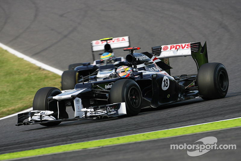 Williams will be looking to repeat double points finish in Interlagos