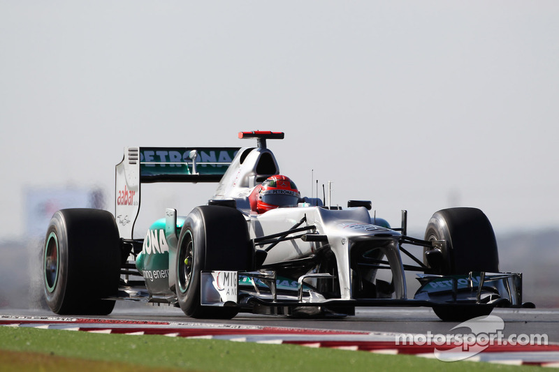 Pretty good Friday practice for Mercedes at Interlagos