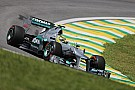 Rosberg and Schumacher qualified in 10th and 14th places for the Brazilian GP